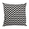 Meridian Furniture USA Delano Décor Chevron Flannel Cotton Throw Pillow