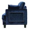 Meridian Furniture USA Ferrara Nailhead Armchair