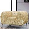 Meridian Furniture USA Mercer Velvet Armchair