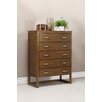 Domus Vita Design Brisbane 5 Drawer High Chest Dresser