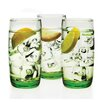 Circle Glass Izabel 15 oz. Beverage (Set of 3)