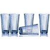 Circle Glass Column 17 oz. Cooler Glass (Set of 10)