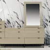 Argo Furniture Devitto 3 Drawer Dresser with Mirror