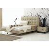 Argo Furniture Devitto Queen Flatform Customizable Bedroom Set