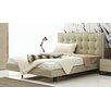 Argo Furniture Devitto Queen Upholstered Panel Bed