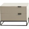 Argo Furniture Devitto 2 Drawer Nightstand