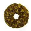 Shea's Wildflowers Wool Wreath