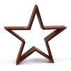 Shea's Wildflowers Wood Barn Star Sculpture