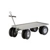 "Little Giant USA 30"" x 62.5"" Steel 8 Wheeler Wagon Truck"
