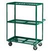 "Little Giant USA 24"" x 53.5"" Multi-Shelf Steel Utility Cart"