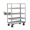 Little Giant USA Multi-Shelf Utility Cart with Writing Shelf and Storage Pocket