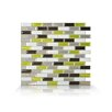Smart Tiles Murano Verde 25.91cm x 23.11cm Tile (Set of 6)