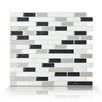 Smart Tiles Muretto Alaska 25.91cm x 23.11cm Tile (Set of 6)