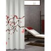 Sealskin Blossom Shower Curtain