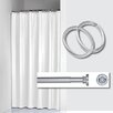 Sealskin Madeira 3 Piece Corner Shower Curtain Set