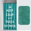 Sealskin Testo 2 Piece Shower Curtain Set