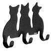 Tiger Wall Mounted Cats Hook (Set of 4)