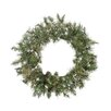 Northlight Seasonal Snow Mountain Pine Artificial Christmas Wreath