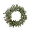 Northlight Seasonal Snow Mountain Pine Artificial Christmas Wreath