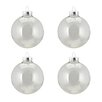 Northlight Seasonal Glass Ball Christmas Ornament (Set of 4)