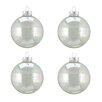 Northlight Seasonal Iridescent Glass Ball Christmas Ornament (Set of 4)