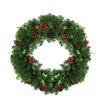 Northlight Seasonal Mixed Pine, Berries and Pine Cones Artificial Christmas Wreath
