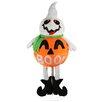 Northlight Seasonal LED Standing Jack-O-Lantern Ghost Halloween Decoration
