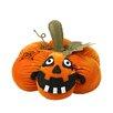 Northlight Seasonal LED Plush Jack-o-Lantern Halloween Decoration