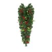 Northlight Seasonal Mixed Pine, Berries and Pine Cones Artificial Christmas Teardrop Swag