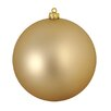 Northlight Seasonal Shatterproof Champagne Commercial Christmas Ball Ornament