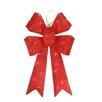 Northlight Seasonal Sparkling Whimsical Sisal Bow Christmas Decoration