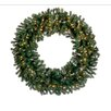 Northlight Seasonal Pre-Lit Deluxe Windsor Pine Commercial Size Artificial Christmas Wreath