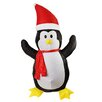 Northlight Seasonal Inflatable Lighted Penguin Christmas Decoration