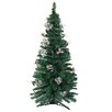Northlight Seasonal 6' Artificial Christmas Tree with Silver Holly