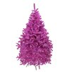 Northlight Seasonal 7.5' Orchid Pink Cedar Pine Artificial Christmas Tree with Unlit