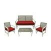 Northlight Seasonal 4 Piece Acacia Wood Outdoor Furniture Set