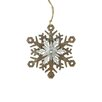 Northlight Seasonal Country Rustic Snowflake Christmas Ornament