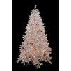 Northlight Seasonal 7.5' White Cedar Pine Artificial Christmas Tree with Clear Light