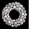 Northlight Seasonal Shatterproof Christmas Ball Ornament Wreath