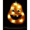 Northlight Seasonal Lighted Tall Jack o lantern Pumpkin Halloween Window Silhouette Decoration