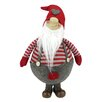 Northlight Seasonal Jolly Standing Gnome in Suspender with Cap