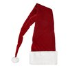 Northlight Seasonal Ultimate Luxury Santa Hat with Extended Cuff