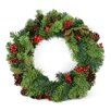 Northlight Seasonal Berry and Pine Cone Unlit Artificial Christmas Wreath