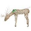 Northlight Seasonal Pre-Lit Glittered Feeding Deer Christmas Decoration