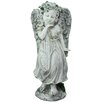 Northlight Seasonal Angel Girl with Floral Crown Garden Statue