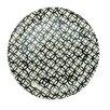 "Northlight Seasonal Basic Luxury 9.25"" Decorative Circled Diamonds on Round Terracotta Dinner Plate"