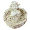Cherub Angel Decorative Tray Bird Feeder - Northlight Bird Feeders