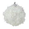 Northlight Seasonal Christmas Snow Ball Ornament (Set of 3)