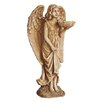 Northlight Seasonal Angel with Flower Statue Bird Feeder
