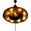 Northlight Seasonal Lighted Jack-o-lantern Pumpkin Holographic Window Silhouette Decoration